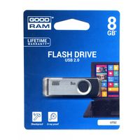 Flash Pen USB 2.0 8GB GoodRam Μαυρο