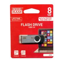 Flash Pen USB 3.0 8GB GoodRam Μαυρο