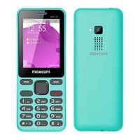 "Maxcom MM139 (Dual Sim) 2,4"" με Κυρτό Σώμα, Κάμερα, Φακό και Ραδιόφωνο (Λειτουργεί Χωρίς Ακουστικά) Μπλε"
