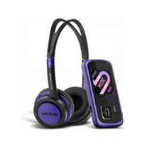 ENERGY SISTEM MP4+HEADPHONES 4GB 2204 DJ VIOLET