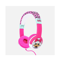 OTL Surprise Παιδικά Ακουστικά Κεφαλής My Diva Pink Kids Headphones LOL763