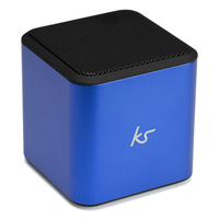 KITSOUND Φορητό Ηχείο Bluetooth Cube Μπλε KSCUBBTBL