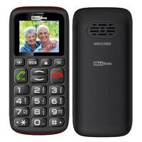 "Maxcom MM428BB (Dual Sim) 1.8"" με Μεγάλα Πλήκτρα, Ραδιόφωνο (Λειτουργεί χωρίς Handsfree), Φακό και Πλήκτρο Έκτακτης Ανάγκης Μαύρο"
