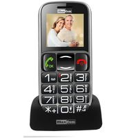 "Maxcom MM462BB 1.8"" με Μεγάλα Πλήκτρα, Bluetooth, Ραδιόφωνο (Λειτουργεί χωρίς Handsfree), Φακό, Κάμερα και Πλήκτρο Έκτακτης Ανάγκης Μαύρο"