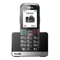 """Maxcom MM720BB 2.2"""" με Μεγάλα Πλήκτρα, Bluetooth, Ραδιόφωνο, Φακό, Κάμερα και Πλήκτρο Έκτακτης Ανάγκης Μαύρο"""