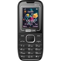 "Maxcom MM135 (Dual Sim) 1,77"" με Κάμερα, Bluetooth, Φακό, Ανοιχτή Ακρόαση και Ραδιόφωνο Μαύρο - Μπλέ"