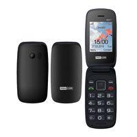 "Maxcom MM817 (Dual Sim) 2,4"" με Μεγάλα Πλήκτρα, με Βάση Φόρτισης, Ραδιόφωνο (Λειτουργεί χωρίς Handsfree) Μαύρο"
