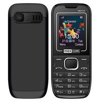 "Maxcom MM134 (Dual Sim) 1,77"" με Κάμερα, Φακό, Ανοιχτή Ακρόαση και Ραδιόφωνο Μαύρο"