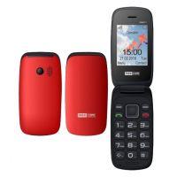 "Maxcom MM817 (Dual Sim) 2,4"" με Μεγάλα Πλήκτρα, Βάση Φόρτισης, Ραδιόφωνο (Λειτουργεί χωρίς Handsfree) Κόκκινο"